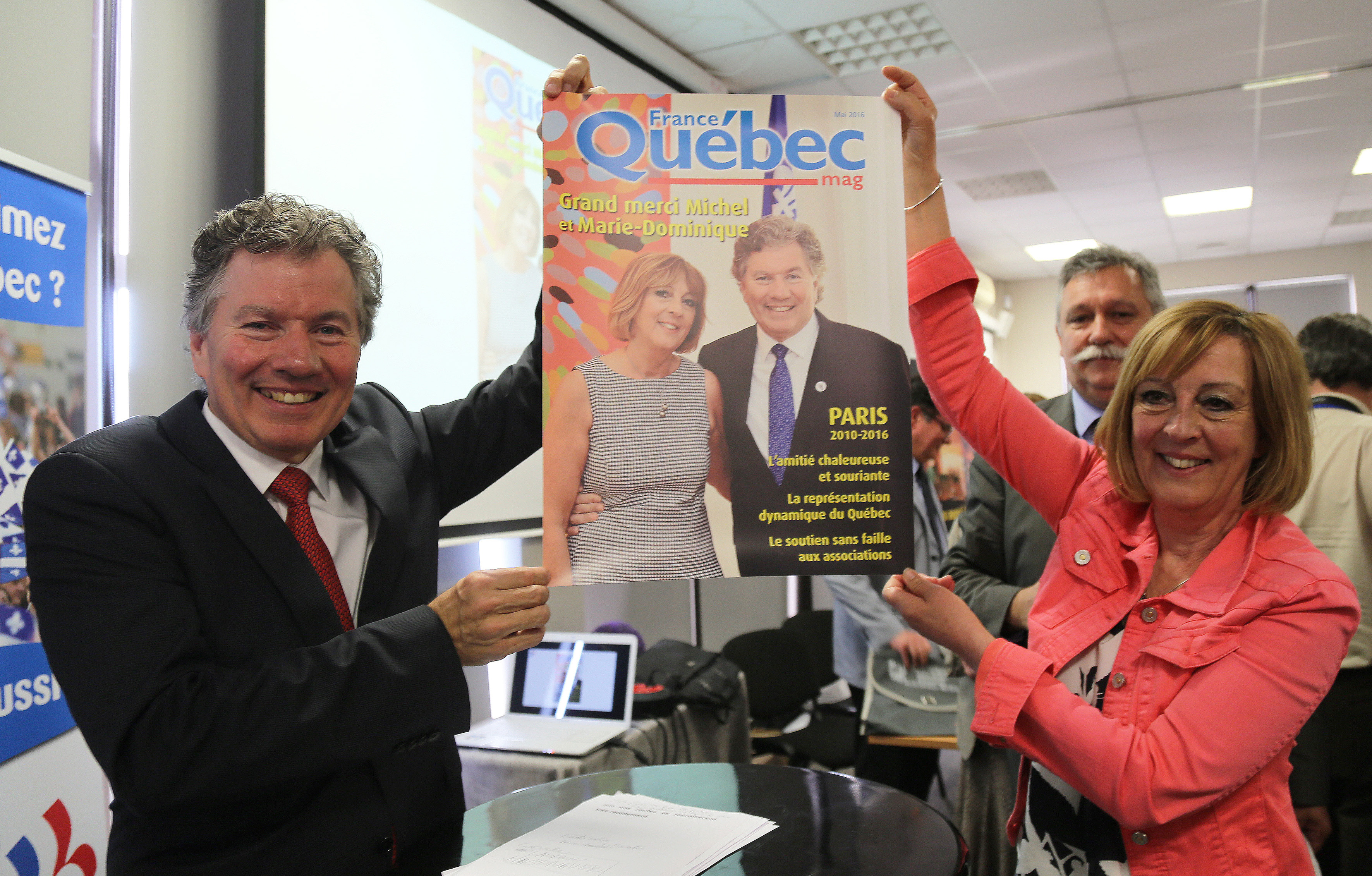 La surprise de France-Québec mag